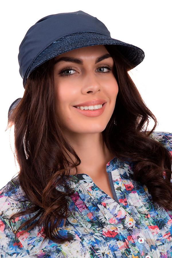 Кепка SeebergerКепки<br>Оригинальная кепка от бренда Seeberger темно-синего цвета. Это изделие выполнено из соломы. Данная модель предназначена для летнего сезона. Головной убор дополнен завязкой сзади. Козырек кепки украшен темно синими пайетками. Такое изделие дополнит любой летний образ. Головной убор такого цвета отлично подойдет для тех, кто не любит пестрые цвета.<br><br>Размер RU: один размер<br>Пол: Женский<br>Возраст: Взрослый<br>Материал: солома 100%<br>Цвет: Синий