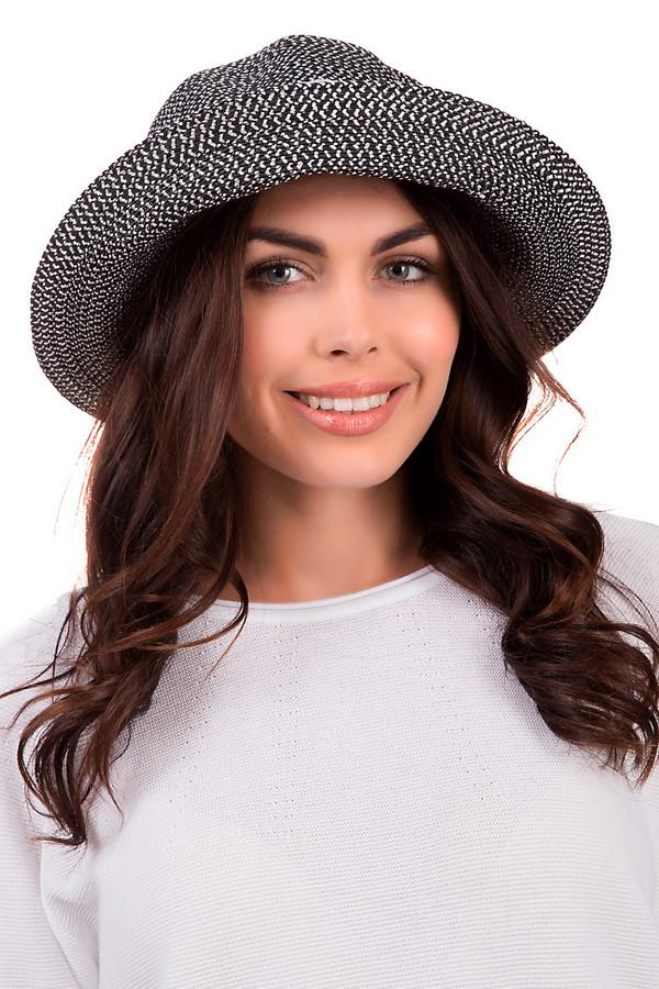 Шляпа SeebergerШляпы<br>Стильная женская шляпа от бренда Wegener черного и белого цветов. Это изделие выполнено из бумаги. Данная модель предназначена для летнего сезона. У шляпы не очень широкие поля. Она дополнена тремя черно-белыми лентами. Хорошо защищает от солнечных лучей. Придаст яркости любому летнему образу.<br><br>Размер RU: один размер<br>Пол: Женский<br>Возраст: Взрослый<br>Материал: полиэстер 100%<br>Цвет: Чёрный