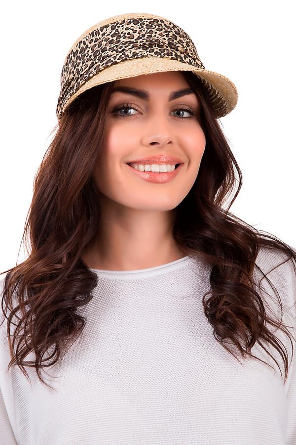 Кепка SeebergerКепки<br>Модная женская кепка от бренда Seeberger бежевого цвета. Изделие выполнено полностью из соломы. Головной убор предназначен для летнего сезона. Данная модель дополнена широким козырьком и тканевой вставкой. Она оформлена ярким леопардовым принтом. Головной убор защитит от солнца. При этом, будет ярким акцентом в летнем образе. Сочетается с разными цветами и факторами.<br><br>Размер RU: один размер<br>Пол: Женский<br>Возраст: Взрослый<br>Материал: солома 100%<br>Цвет: Разноцветный
