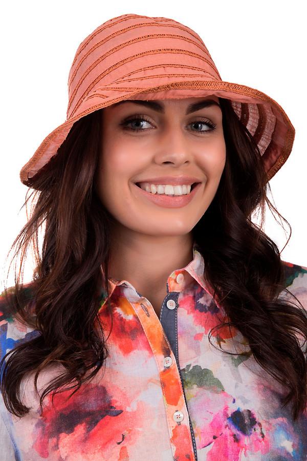 женская шляпа seeberger, оранжевая