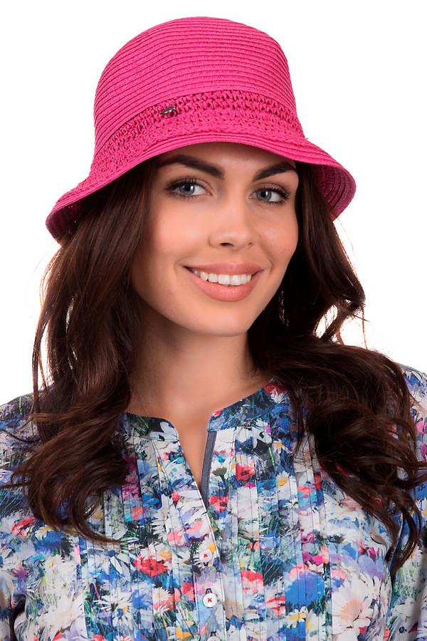 Шляпа SeebergerШляпы<br>Удобная женская шляпа от бренда Seeberger насыщенного розового цвета. Это изделие выполнено из бумаги. Данная модель предназначена для теплой летней погоды. Головной убор представляет собой практичную панаму. Она дополнена вязанной вставкой. Станет идеальной защитой от солнца. Шляпа сочетается с разными стилями. Придаст летнему образу оригинальности.<br><br>Размер RU: 55-56<br>Пол: Женский<br>Возраст: Взрослый<br>Материал: бумага 100%<br>Цвет: Розовый