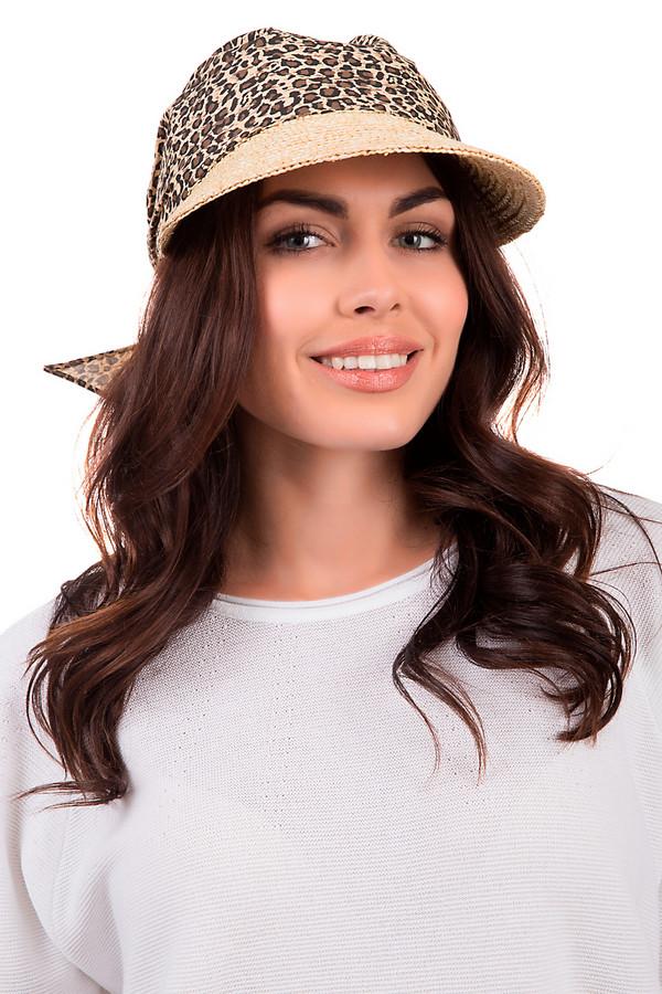Кепка SeebergerКепки<br>Яркая женская кепка от бренда Seeberger бежевого, чёрного и коричневого цветов. Данное изделие выполнено полностью из соломы. Эта модель предназначена для летнего сезона. Она дополнена широким светлым козырьком и завязкой сзади. Основа оформлена леопардовым принтом. Головной убор хорошо защищает от солнца. При этом, станет ярким и стильным акцентом в любом летнем образе.<br><br>Размер RU: один размер<br>Пол: Женский<br>Возраст: Взрослый<br>Материал: солома 100%<br>Цвет: Разноцветный