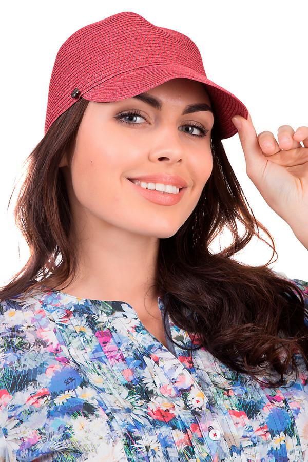 женская кепка seeberger, красная