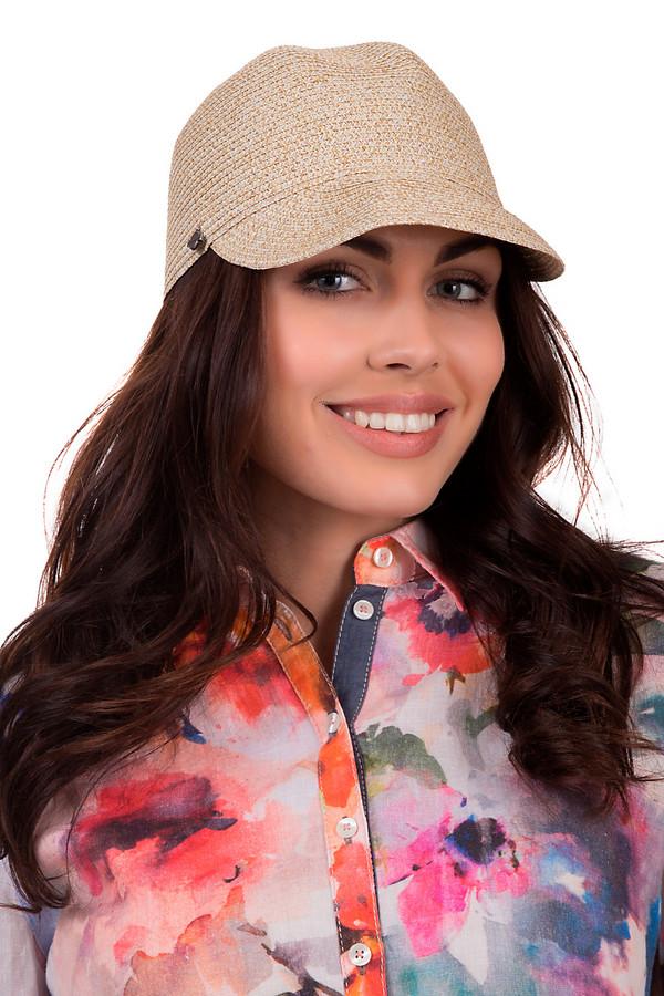 Кепка SeebergerКепки<br>Модная женская кепка от бренда Seeberger бежевого цвета. Данная модель выполнена из бумаги. Изделие предназначено для летнего сезона. Оно дополнено длинным козырьком и маленькой металлической деталью сбоку. Головной убор будет защищать от получение солнечного удара. Помимо этого кепка будет стильной деталью вашего летнего образа.<br><br>Размер RU: один размер<br>Пол: Женский<br>Возраст: Взрослый<br>Материал: бумага 100%<br>Цвет: Бежевый