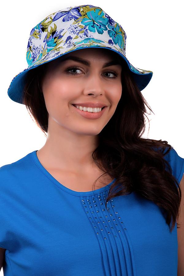 Шляпа WegenerШляпы<br>Оригинальная женская шляпа от бренда Wegener белого, черного, зеленого, голубого и синего цветов. Это изделие выполнено из натурального хлопка. Данная модель предназначена для летнего сезона. У шляпы не очень широкие поля. Она дополнена ярким и крупным цветочным рисунком. Защищает голову от негативного влияния солнечных лучей. Эта шляпа добавит индивидуальности в летний образ.<br><br>Размер RU: 57<br>Пол: Женский<br>Возраст: Взрослый<br>Материал: хлопок 100%<br>Цвет: Разноцветный