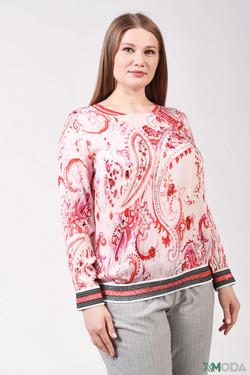 Блузa Eugen Klein, цвет розовый, размер 54RU
