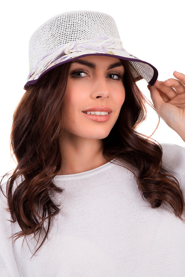 Шляпа WegenerШляпы<br>Оригинальная женская шляпа от бренда Seeberger белого, фиолетового и оранжевого цветов. Это изделие выполнено из бумаги. Данная модель предназначена для лета. Шляпа широкополая. Дополнена ярким цветочным рисунком. Станет отличной защитой от солнечных лучей. Шляпа гармонично смотрится с одеждой разных стилей. Этот головной убор будет ярким акцентом в образе.<br><br>Размер RU: 57<br>Пол: Женский<br>Возраст: Взрослый<br>Материал: бумага 100%<br>Цвет: Разноцветный