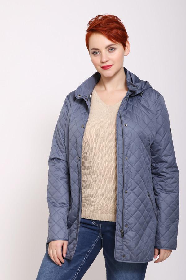 женская куртка pezzo, синяя