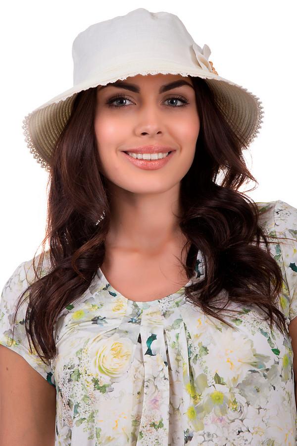 Шляпа WegenerШляпы<br>Оригинальная шляпа от бренда Wegener белого цвета. Это изделие выполнено из полиэстера, хлопка и бумаги. Модель является летней. Она дополнена снизу кружевными вставками и большим цветком сбоку. Головной убор надёжно защитит от станковых лучей. При этом, будет выполнять стильно.<br><br>Размер RU: 57<br>Пол: Женский<br>Возраст: Взрослый<br>Материал: полиэстер 50%, хлопок 10%, бумага 40%<br>Цвет: Белый