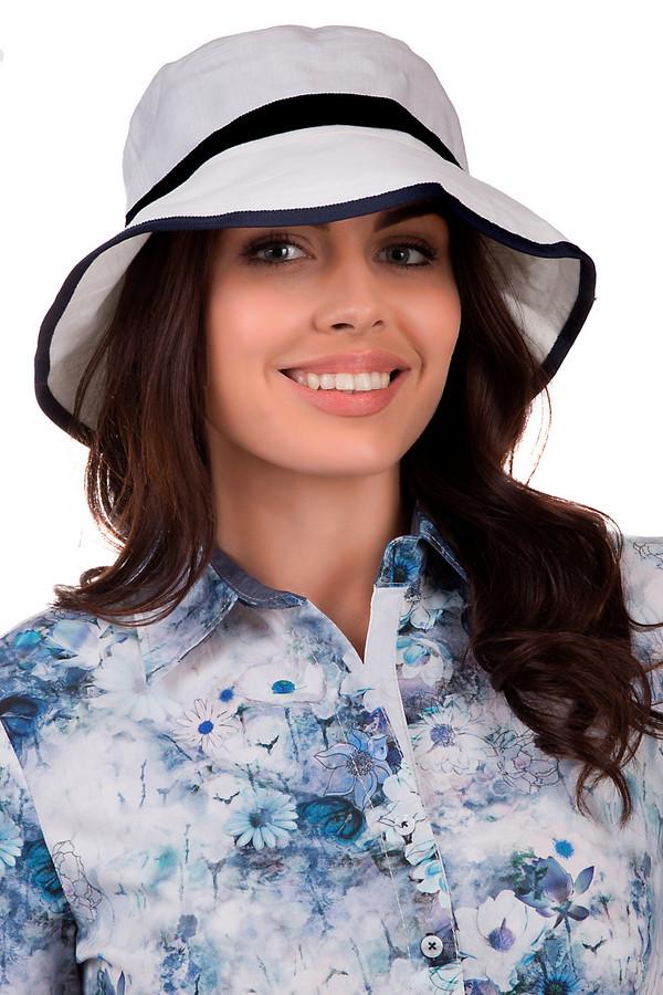 Шляпа WegenerШляпы<br>Стильная женская шляпа от бренда Wegener белого и черного цветов. Это изделие выполнено из натурального льна. Модель предназначена для летнего сезона. У шляпы не очень широкие поля. Она черной лентой, что разделяет основу и поля. Защитит голову от влияния солнечных лучей. Этот головой убор добавит индивидуальности образу.<br><br>Размер RU: 57<br>Пол: Женский<br>Возраст: Взрослый<br>Материал: лен 100%<br>Цвет: Чёрный