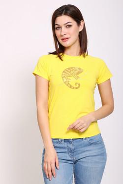 Футболка Pezzo, цвет жёлтый, размер 44RU
