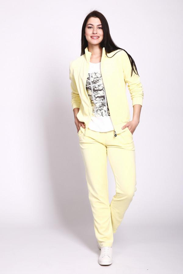 Купить Спортивный костюм EA7, Китай, Жёлтый, хлопок 70%, полиэстер 30%