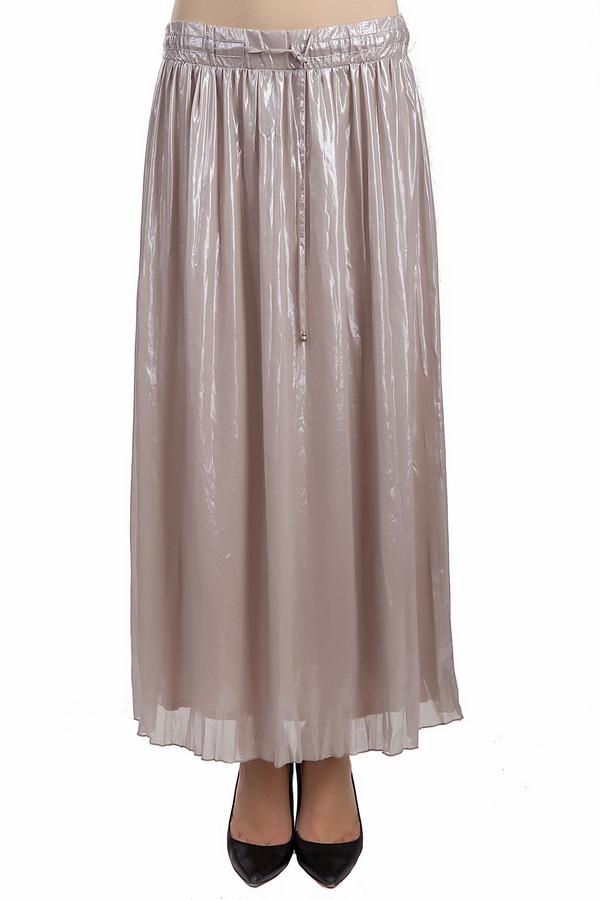 Юбка ApanageЮбки<br>Летняя юбка от бренда Apanage серебристого и бежевого цветов. Это изделие было выполнено из полиэстера. Юбка предназначена для летнего сезона. Она дополнена резинкой сверху. Данная модель свободная и длинная. Любой образ с юбкой такой интересной расцветкой и длиной станет более запоминающимся.<br><br>Размер RU: 48<br>Пол: Женский<br>Возраст: Взрослый<br>Материал: полиэстер 100%<br>Цвет: Разноцветный