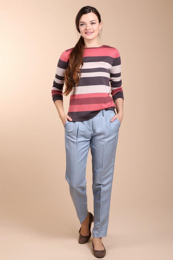 Брюки ApanageБрюки<br>Женские брюки от бренда Apanage голубого цвета. Это изделие выполнено из полиамида, вискозы и льна. Модель дополнена шлевками для ремня, карманами по бокам и сзади. Эти брюки предназначены для летнего сезона. У них средняя посадка. Нежный голубой цвет добавить в летний образ романтичности и легкости.<br><br>Размер RU: 44<br>Пол: Женский<br>Возраст: Взрослый<br>Материал: полиамид 23%, вискоза 44%, лен 33%<br>Цвет: Голубой