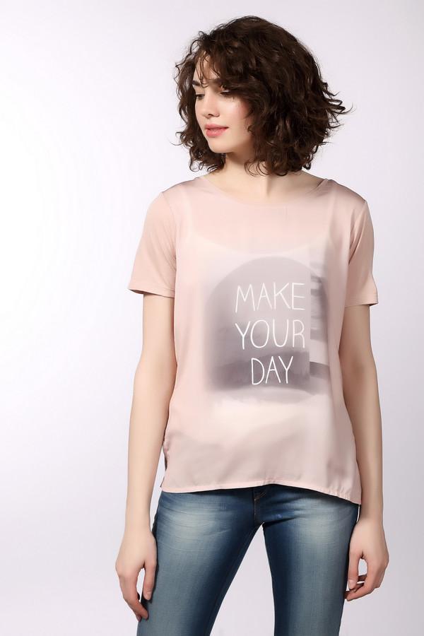 Футболка Tom TailorФутболки<br>Стильная футболка для женщин от бренда Tom Tailor. Это футболка свободного кроя круглым широким вырезом и рукавом длиной до середины плеча. Она выполнена в бежевом цвете из 100% вискозы и дополнена оригинальным принтом с надписью на передней ее части.<br><br>Размер RU: 40-42<br>Пол: Женский<br>Возраст: Взрослый<br>Материал: вискоза 100%<br>Цвет: Розовый