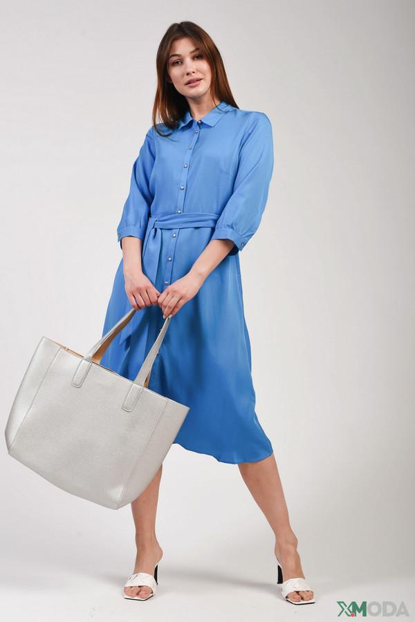 женское платье comma,, синее