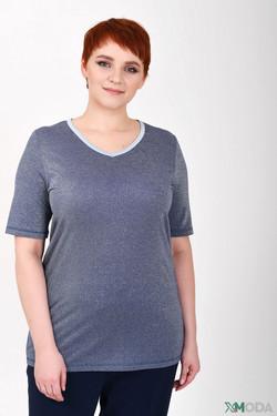 Пуловер Lecomte, цвет синий, размер 44RU