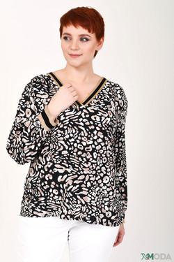 Блузa Lecomte, цвет разноцветный, размер