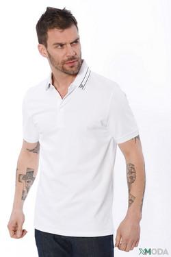 Футболкa Emporio Armani, цвет белый, размер