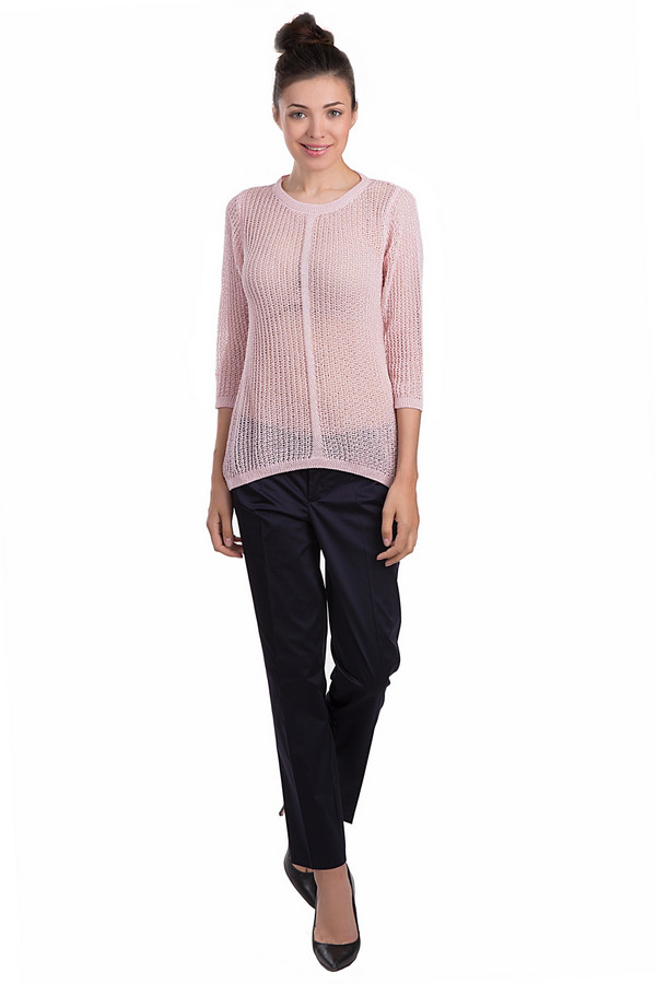 Брюки OuiБрюки<br>Строгие женские брюки от бренда Oui черного цвета. Данное изделие было выполнено из эластана и полиэстера. Эта модель предназначена для демисезона. Штаны с высокой посадкой. Они дополнены едва заметными карманами сбоку и застежкой на молнии. Такие брюки можно сочетать с разной одеждой. Глубокий черный цвет изделия придаст любому образу строгости.<br><br>Размер RU: 46<br>Пол: Женский<br>Возраст: Взрослый<br>Материал: эластан 3%, хлопок 97%<br>Цвет: Чёрный
