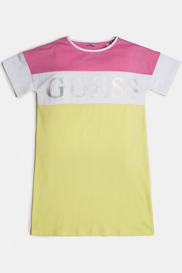 платье guess для девочки, разноцветное