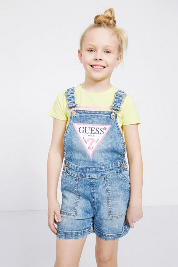 комбинезон с брюками guess для девочки, разноцветный