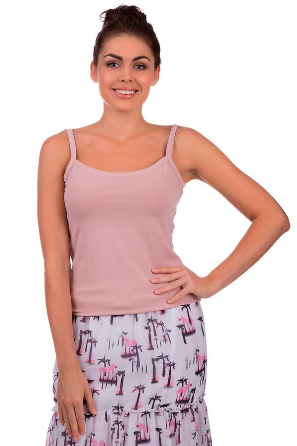 Топ Betty BarclayТопы<br>Летний топ Betty Barclay нежно-розового цвета. Выполнен из хлопка и эластана. Нежный розовый цвет подчеркнет женственность и легкость образа. Отсутствие лишних деталей делает этот топ универсальным и подходящим под любой летний образ. Отлично сочетается как с летящими юбками, так и с джинсами.<br><br>Размер RU: 48<br>Пол: Женский<br>Возраст: Взрослый<br>Материал: хлопок 95%, эластан 5%<br>Цвет: Розовый