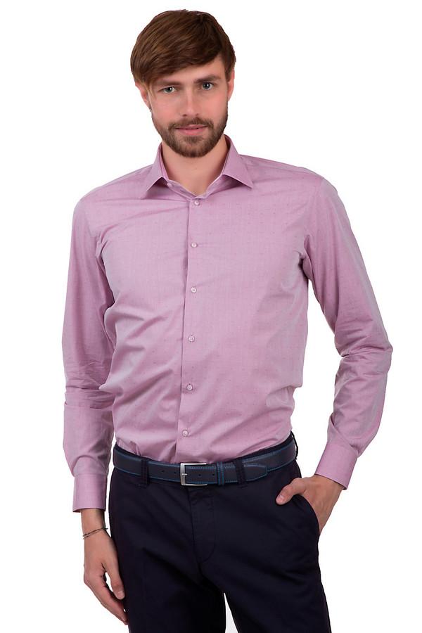 Рубашка с длинным рукавом Flavio NavaДлинный рукав<br>Рубашка на пуговицах для мужчин, от бренда Flavio Nava. Рубашка представлена в розовом цвете в мелкий бело-розовый горошек. Изделие сшито по классическому крою из 100% хлопка. У данной модели длинные рукава и отложной воротник.<br><br>Размер RU: 41<br>Пол: Мужской<br>Возраст: Взрослый<br>Материал: хлопок 100%<br>Цвет: Розовый