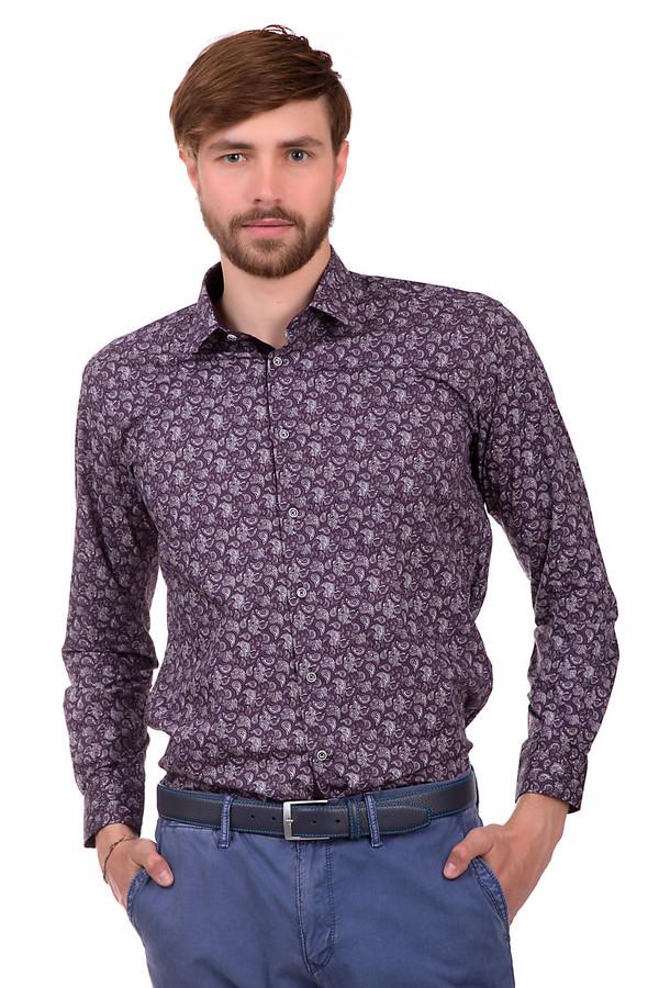Рубашка с длинным рукавом Flavio NavaДлинный рукав<br>Эпатажная рубашка для мужчин. Это рубашка от бренда Flavio Nava, выполненная в фиолетовых оттенках, с узорами турецкие огурцы. Она сшита из 100% хлопка. У данного изделия отложной воротник и рукав длиной до середины плеча.<br><br>Размер RU: 41<br>Пол: Мужской<br>Возраст: Взрослый<br>Материал: хлопок 100%<br>Цвет: Белый
