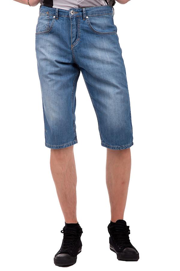 Шорты Daniel HechterШорты<br>Мужские шорты средней посадки, от бренда Daniel Hechter. Данные шорты изготовлены из 100% хлопка. По покрою это прямые классические шорты, слегка прикрывающие колени. Изделие дополнено двумя передними боковыми карманами, парой задних, а также пятым карманом. Данная модель представлена в голубом цвете с потертостями и швами выполненными нитью оранжевого цвета.<br><br>Размер RU: 48<br>Пол: Мужской<br>Возраст: Взрослый<br>Материал: хлопок 100%<br>Цвет: Синий