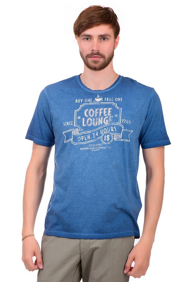 Футболкa CalamarФутболки<br>Мужская футболка от бренда Calamar. Данная футболка выполнена в насыщенном синем цвете и дополнена белым принтом с эффектом потертости. У этой футболки рукав длиной до середины плеча и круглый вырез. Материал - 100% хлопок.<br><br>Размер RU: 42-44<br>Пол: Мужской<br>Возраст: Взрослый<br>Материал: хлопок 100%<br>Цвет: Белый