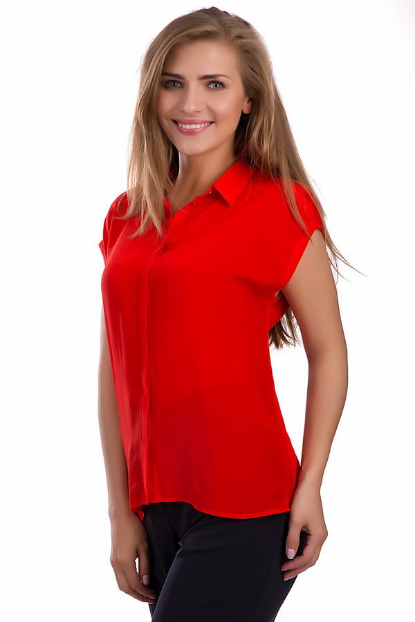 Блузa PassportБлузы<br>Элегантная блуза Passport насыщенного красного цвета. Это изделие было выполнено из натурального шелка. Данная модель предназначена для летнего сезона. Застегивается с помощью пуговиц в тон изделию. Спинка удлинена. Отлично смотрится с женственными юбками и с брюками свободного кроя. Сочетается с разнообразной одеждой.<br><br>Размер RU: 40/42<br>Пол: Женский<br>Возраст: Взрослый<br>Материал: шелк 100%<br>Цвет: Красный