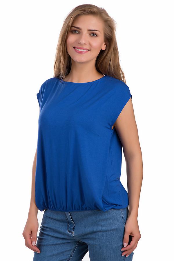 Футболка PassportФутболки<br>Модная женская футболка Passport синего цвета. Это изделие было выполнено из эластана и модала. Данная модель предназначена для летнего сезона. Футболка свободного кроя. Изделие снизу на резинке. Сочетается с облегающими юбками или брюками. Эта модель хорошо смотрится с однотонными вещами<br><br>Размер RU: 40/42<br>Пол: Женский<br>Возраст: Взрослый<br>Материал: эластан 5%, модал 95%<br>Цвет: Синий