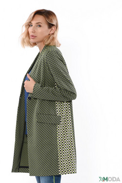 Жакет Rich and Royal, цвет зелёный, размер