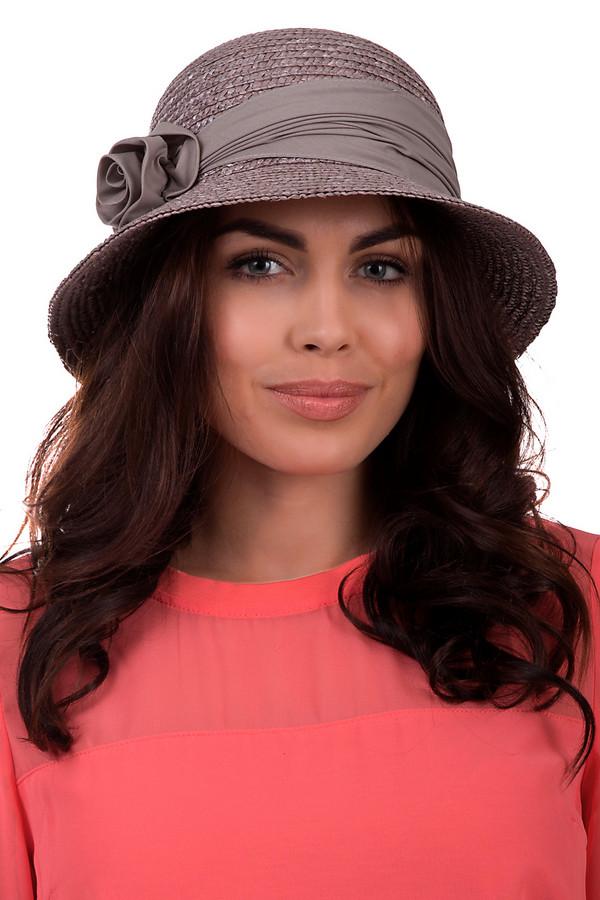 Шляпа SeebergerШляпы<br>Утонченная шляпа от бренда Seeberger светлого серого цвета. Выполнена полностью из соломы. Модель предназначена для теплого летнего сезона. Эта шляпа широкополая. Дополнена тканевой вставкой с цветком. Защитит голову от влияния ультрафиолетовых лучей. Шляпа сочетается с разными стилями и фактурами. Придаст летнему образу легкости.<br><br>Размер RU: один размер<br>Пол: Женский<br>Возраст: Взрослый<br>Материал: солома 100%<br>Цвет: Серый