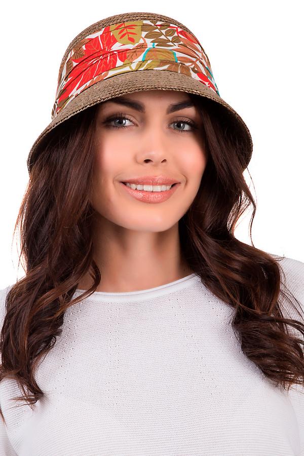 Шляпа SeebergerШляпы<br>Стильная женская шляпа от бренда Seeberger коричневого цвета. Изделие выполнено полностью из соломы. Эта модель предназначена для летнего сезона. Дополнена тканевой вставкой с разноцветным рисунком. Защитит от солнечных лучей. Шляпа будет сочетаться с разными стилями. Летний образ станет более ярким с таким головным убором.<br><br>Размер RU: один размер<br>Пол: Женский<br>Возраст: Взрослый<br>Материал: солома 100%<br>Цвет: Разноцветный