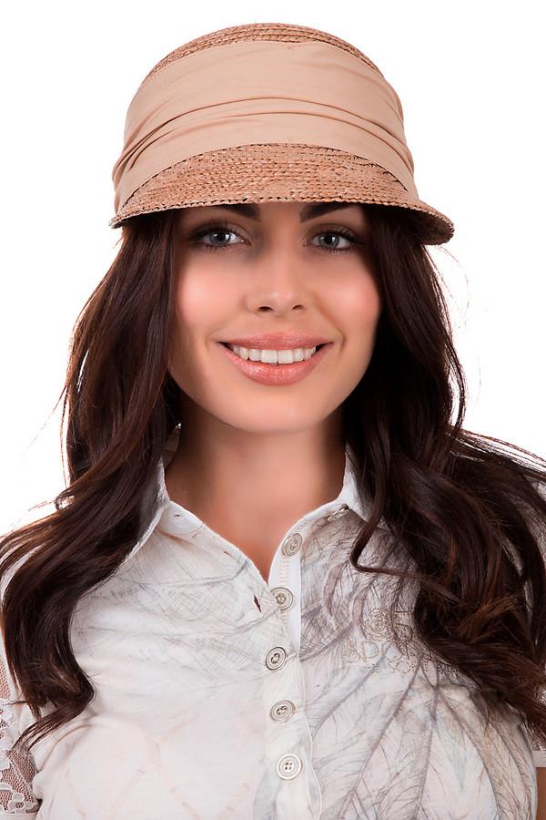 Кепка SeebergerКепки<br>Стильная женская кепка от бренда Seeberger тёмного бежевого цвета. Данное изделие выполнено из соломы. Оно предназначено для летнего сезона. Модель дополнена широким козырьком и тканевой вставкой темнее, чем цвет кепки. Вставка разделяет козырёк от основы головного убора. Кепка хорошо защищает от солнечных ударов. При этом является стильным решением для летнего образа.<br><br>Размер RU: один размер<br>Пол: Женский<br>Возраст: Взрослый<br>Материал: солома 100%<br>Цвет: Бежевый