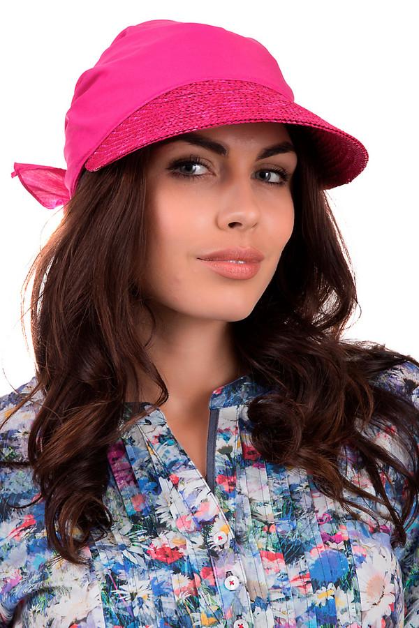 Кепка SeebergerКепки<br>Элегантная кепка от бренда Seeberger ярко розового цвета. Данное изделие выполнено из соломы. Эта модель предназначена для летнего сезона. Головной убор дополнен завязкой сзади. Козырек кепки украшен ярко розовыми пайетками. Такое изделие станет ярким акцентом в летнем образе.<br><br>Размер RU: один размер<br>Пол: Женский<br>Возраст: Взрослый<br>Материал: солома 100%<br>Цвет: Розовый