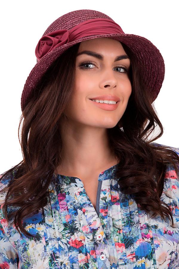Шляпа SeebergerШляпы<br>Женственная шляпа от бренда Seeberger бордового цвета. Выполнена полностью из соломы. Модель предназначена для летнего сезона. Эта шляпа широкополая. Дополнена тканевой вставкой с цветком. Защитит от влияния солнечных лучей. Оригинальная шляпа сочетается с разными стилями и фактурами. Придаст летнему образу элегантности.<br><br>Размер RU: один размер<br>Пол: Женский<br>Возраст: Взрослый<br>Материал: солома 100%<br>Цвет: Бордовый