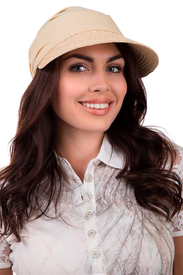 Кепка SeebergerКепки<br>Практичная кепка от бренда Seeberger бежевого цвета. Данное изделие выполнено из соломы. Модель предназначена для летнего сезона. Будет защищать от пагубного влияния ультрафиолетовых лучей. При этом кепка будет смотреться стильно и гармонично с любым летним образом. Изделие дополнено завязками сзади. Козырёк кепки украшен пайетками в тон.<br><br>Размер RU: один размер<br>Пол: Женский<br>Возраст: Взрослый<br>Материал: солома 100%<br>Цвет: Бежевый