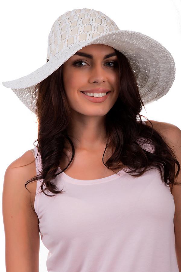 Шляпа SeebergerШляпы<br>Женственная шляпа от бренда Seeberger белого цвета. Данное изделие выполнено из целлюлозы. Эта модель предназначена для летнего сезона. Шляпа широкополая. Дополнена маленькой металлической деталью сбоку. Станет отличной защитой от солнечных лучей. Шляпа сочетается с разными стилями. Добавит летнему образу элегантности.<br><br>Размер RU: один размер<br>Пол: Женский<br>Возраст: Взрослый<br>Материал: целлюлоза 100%<br>Цвет: Белый