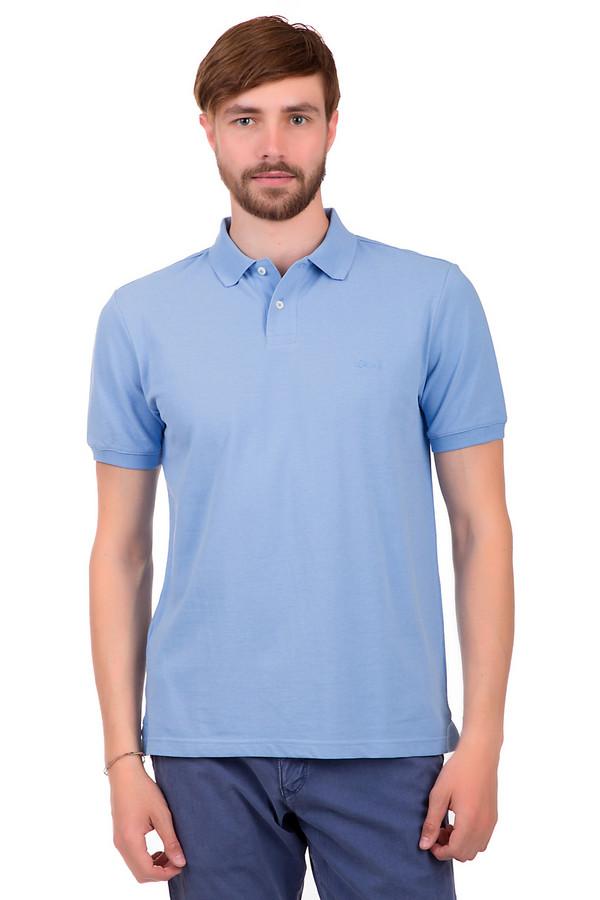 Поло s.OliverПоло<br>Стильное поло для мужчин, от бренда s.Oliver. Это поло выполненное в светло-голубом цвете, пошитое из 100% хлопка. У данной модели рукав на резинке длиной до середины плеча, а также отложной воротник с пуговицами белого цвета. На груди есть вышивка эмблемы фирмы.<br><br>Размер RU: 44-46<br>Пол: Мужской<br>Возраст: Взрослый<br>Материал: хлопок 100%<br>Цвет: Голубой