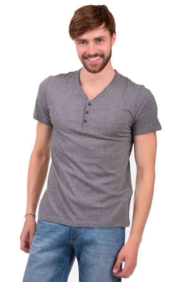 Футболкa s.OliverФутболки<br>Стильная мужская футболка серого цвета от бренда s.Oliver. Это футболка приталенного кроя с V-образным вырезом на пуговицах черного цвета и рукавом длиной до середины плеча. Изделие сшито из смеси хлопка и полиэстера.<br><br>Размер RU: 44-46<br>Пол: Мужской<br>Возраст: Взрослый<br>Материал: хлопок 60%, полиэстер 40%<br>Цвет: Серый
