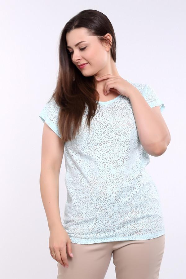 Футболка Betty BarclayФутболки<br>Легкая женская футболка от торговой марки Betty Barclay. Эта модель представлена в голубом цвете с полупрозрачным леопардовым принтом. Данное изделие слегка удлиненное и дополнено короткими бесшовными рукавами с отворотом и U-образным вырезом. Состав футболки - 80% хлопка и 20% полиамида.<br><br>Размер RU: 50<br>Пол: Женский<br>Возраст: Взрослый<br>Материал: полиамид 20%, хлопок 80%<br>Цвет: Голубой