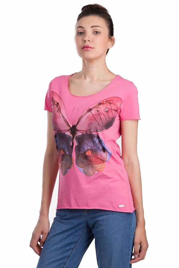 женская футболка с коротким рукавом boss orange, разноцветная