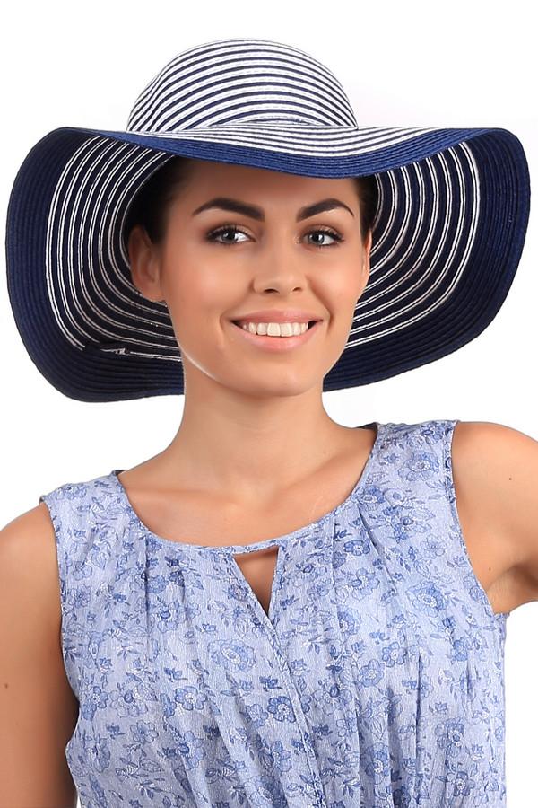 Шляпа WegenerШляпы<br>Элегантная женская шляпа от бренда Wegener в сине-белую полоску. Это изделие выполнено из целлюлозы. Данная модель предназначена для теплой погоды. У шляпы очень широкие поля. Защищает голову от солнечных лучей. Такой головной убор сделает любой летний образ более женственным и утонченным.<br><br>Размер RU: один размер<br>Пол: Женский<br>Возраст: Взрослый<br>Материал: целлюлоза 100%<br>Цвет: Белый