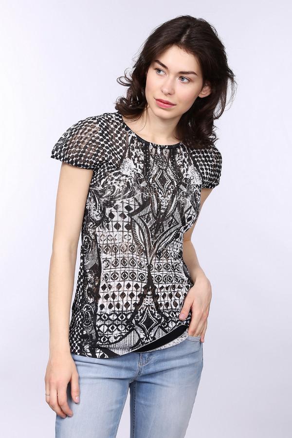 Пуловер Betty BarclayПуловеры<br>Оригинальный женский пуловер Betty Barclay черного цвета. Эта модель была сделана из хлопка и вискозы. Предназначена для летнего сезона. Данное изделие дополнено белым орнаментом на черном фоне. Отлично смотрится с однотонной и разноцветной одеждой. Пуловер придает повседневному образу оригинальности.<br><br>Размер RU: 46<br>Пол: Женский<br>Возраст: Взрослый<br>Материал: хлопок 42%, вискоза 58%<br>Цвет: Белый