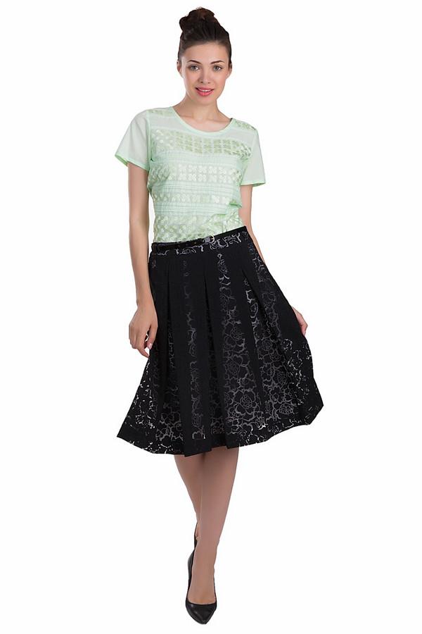 Юбка GardeurЮбки<br>Элегантная юбка Gardeur черного и белого цветов. Это изделие было выполнено из полиамида и вискозы. Данная модель предназначена для летнего сезона. Она дополнена цветочным орнаментом и тонким ремешком. Данное изделие средней длины. Юбка отлично сочетается с одеждой разных цветов. Добавит в любой образ легкости.<br><br>Размер RU: 46<br>Пол: Женский<br>Возраст: Взрослый<br>Материал: полиамид 19%, вискоза 81%<br>Цвет: Белый