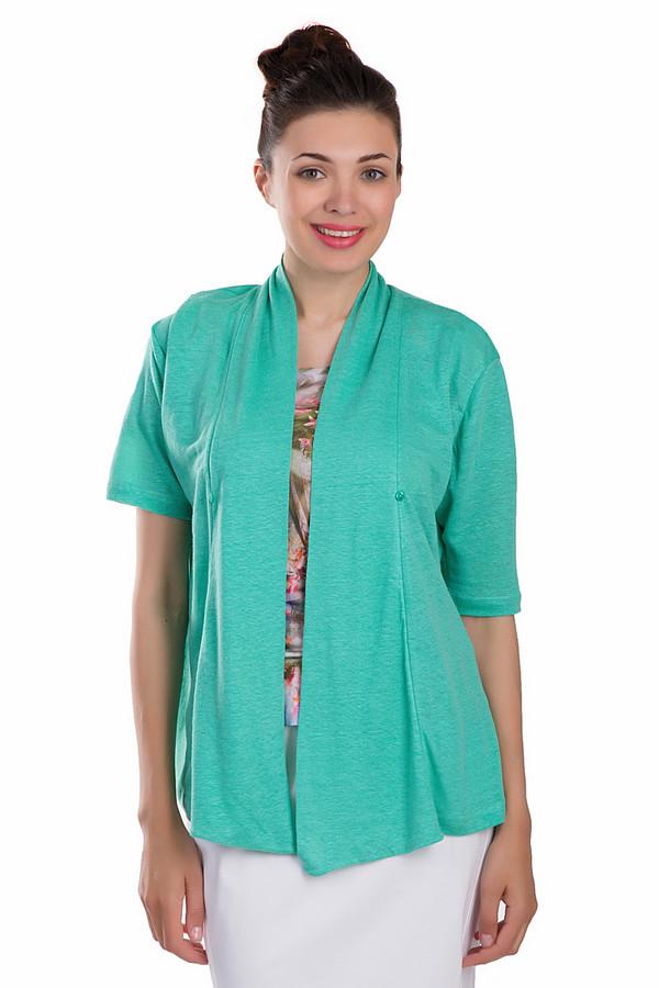 Жакет Gerry WeberЖакеты<br>Модный женский жакет Gerry Weber зеленого цвета. Это изделие было выполнено из натурального льна. Данная модель предназначена для летнего сезона. У жакета укороченные рукава. Застегивается с помощью маленькой зеленой пуговицы. Изделие станет яркий акцентом в летнем образе. Сочетается с разными стилями одежды.<br><br>Размер RU: 46<br>Пол: Женский<br>Возраст: Взрослый<br>Материал: лен 100%<br>Цвет: Зелёный
