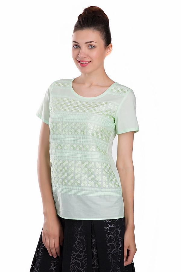 Блузa SE StenauБлузы<br>Модная женская блуза SE Stenau светлого зеленого цвета. Данное изделие было выполнено из натурального хлопка. Эта модель предназначена для летнего сезона. Блуза дополнена интересными орнаментами. Рукава у изделие укорочены Стильное решение для повседневного летнего образа. Сочетается с однотонной и разноцветной одеждой.<br><br>Размер RU: 46<br>Пол: Женский<br>Возраст: Взрослый<br>Материал: хлопок 100%<br>Цвет: Зелёный